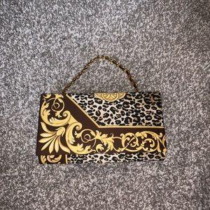 Handbags - Leopard purse/ clutch